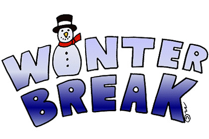 Winter break and furlough dates reminder.
