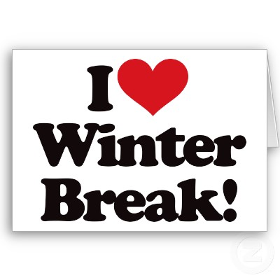 Winter Break Clipart.