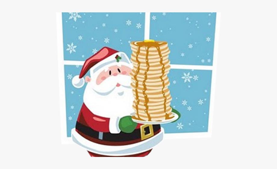Pancake Clipart Christmas.