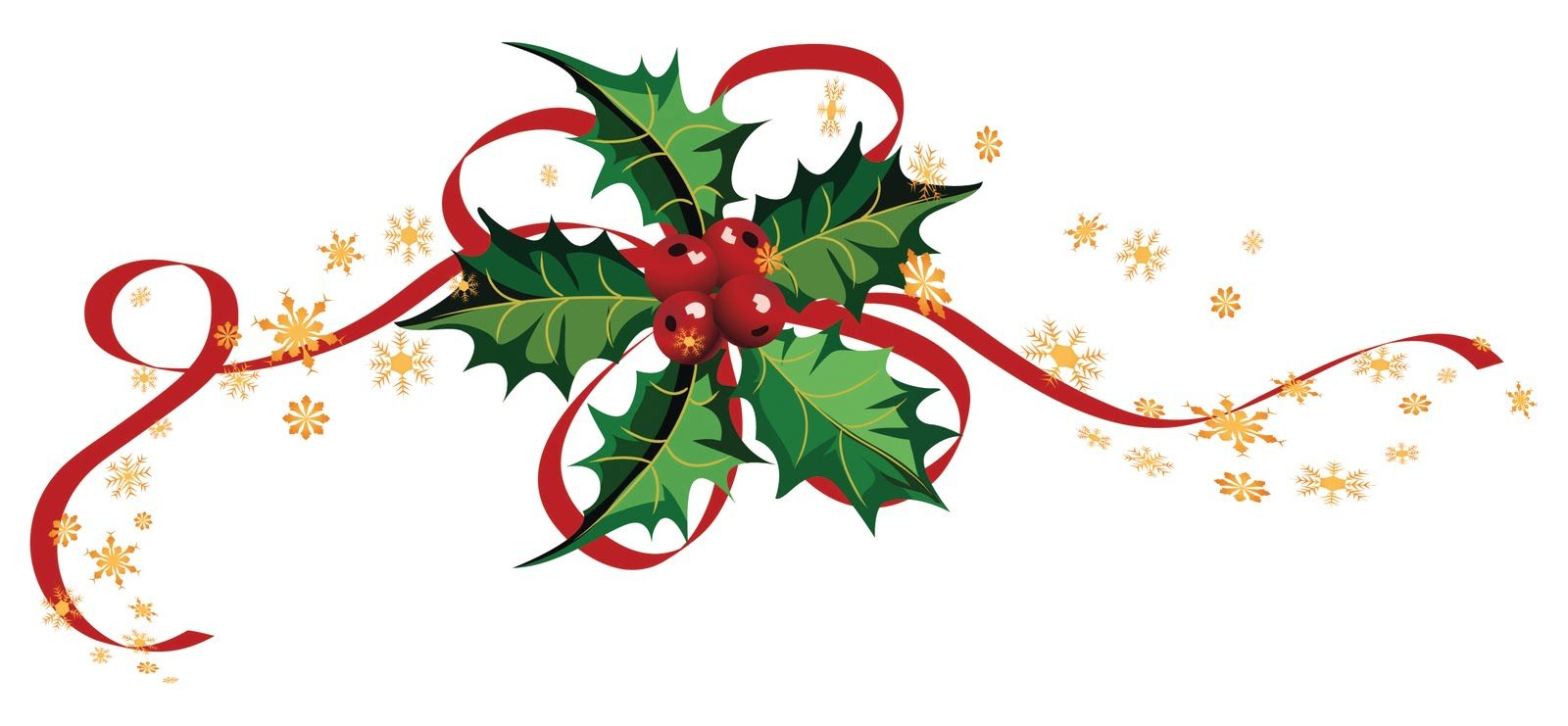 christmas ribbon borders clip art.