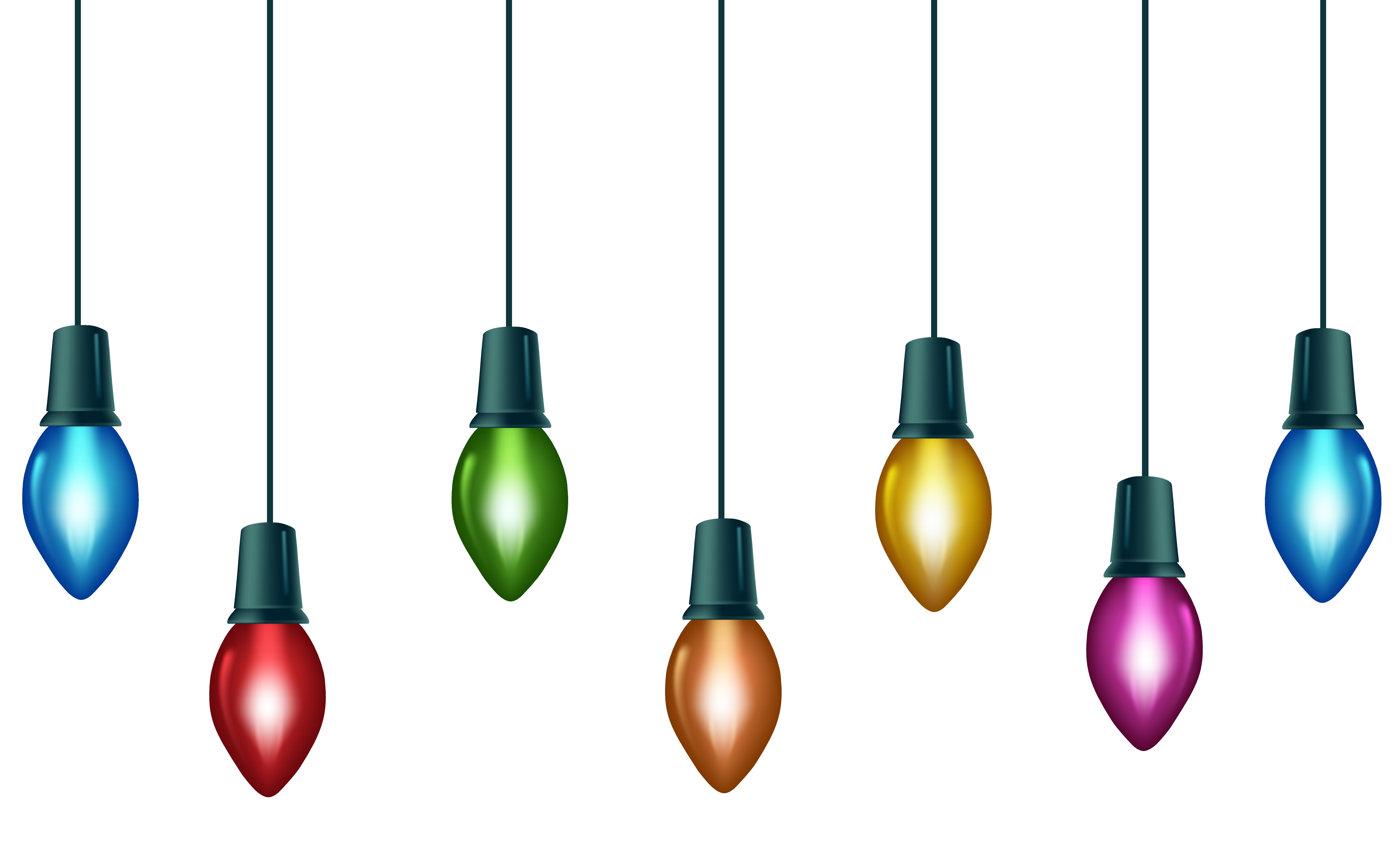 Christmas Bulbs Clipart.