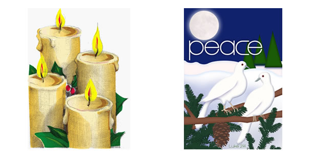 Advent Bulletin Covers.