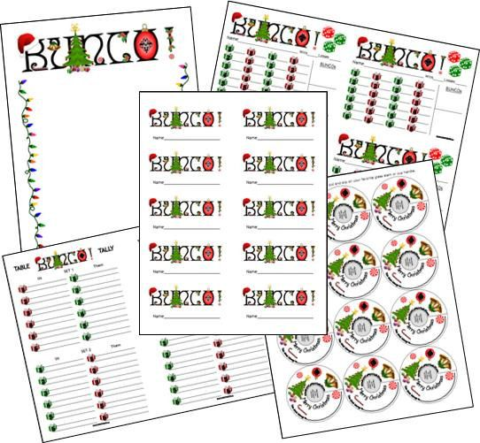 26 Images of Bunco Sheet Template Printable 9 X 11.