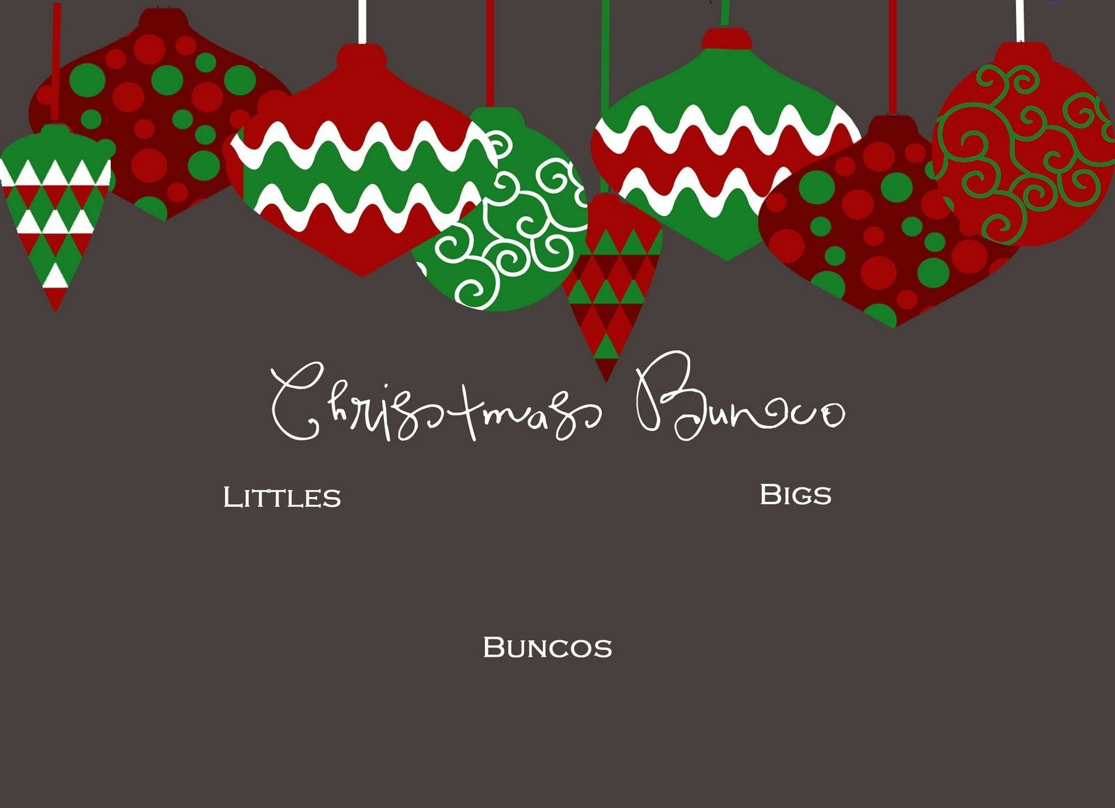 Christmas bunco clipart 8 » Clipart Portal.