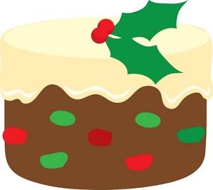 Fruitcake Clipart.