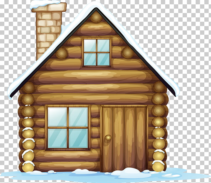 Gingerbread house Christmas , cabin PNG clipart.