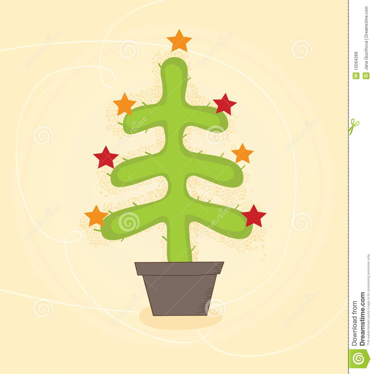 Christmas Cactus Stock Illustrations.