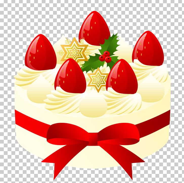 Fruitcake Christmas Cake Shortcake Cream PNG, Clipart.