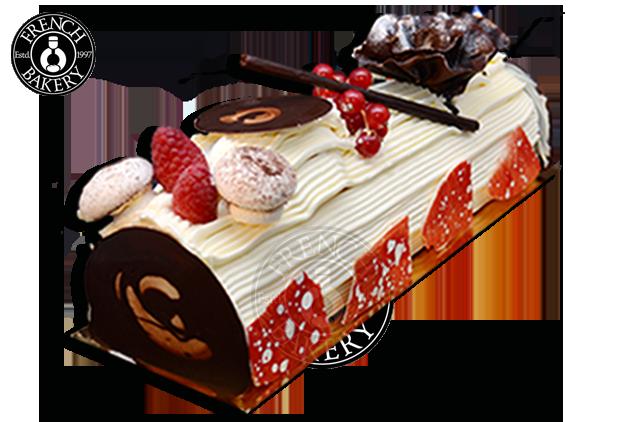 Vanilla Tentation Christmas Cake.