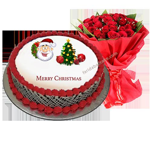 Christmas Cake Gift.