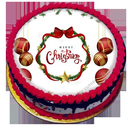 Merry Christmas cake.