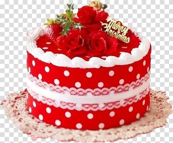 Christmas cake Christmas decoration Wish , cake,chiffon cake,fruit.