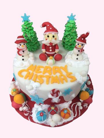 Christmas Cake (Santa).