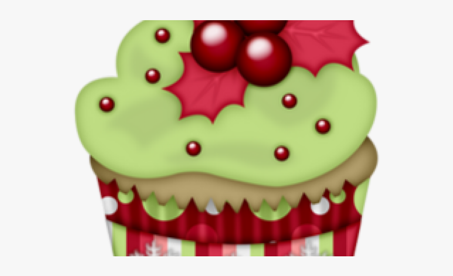 Cupcake Clipart Winter.