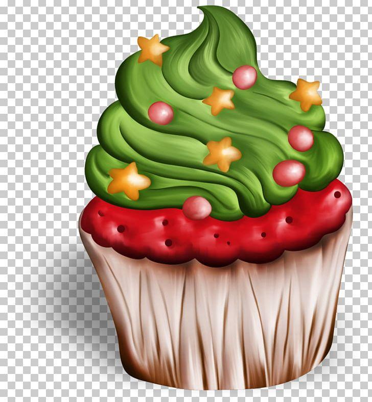 Cupcake Christmas Cake PNG, Clipart, Birthday Cake.