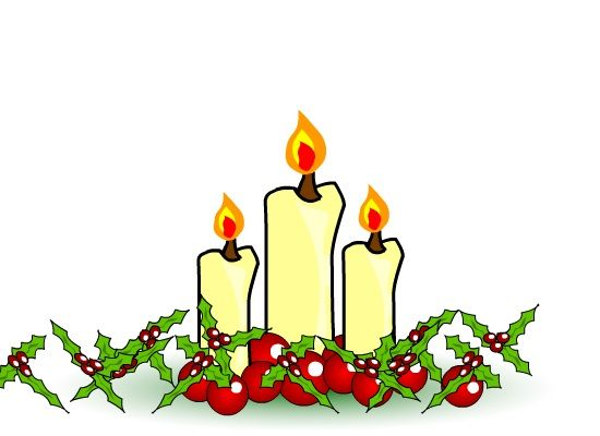 Images Christmas Candles.