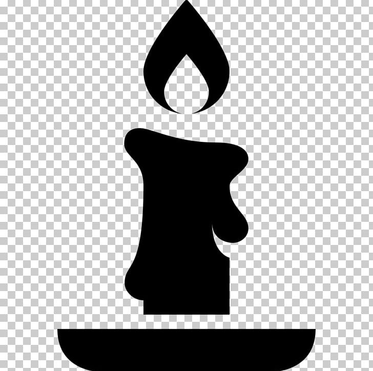 Computer Icons Candle Christmas Sleigh PNG, Clipart, Black And White.