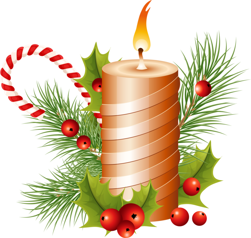 Download Free png Christmas candle PNG image, Download PNG image.