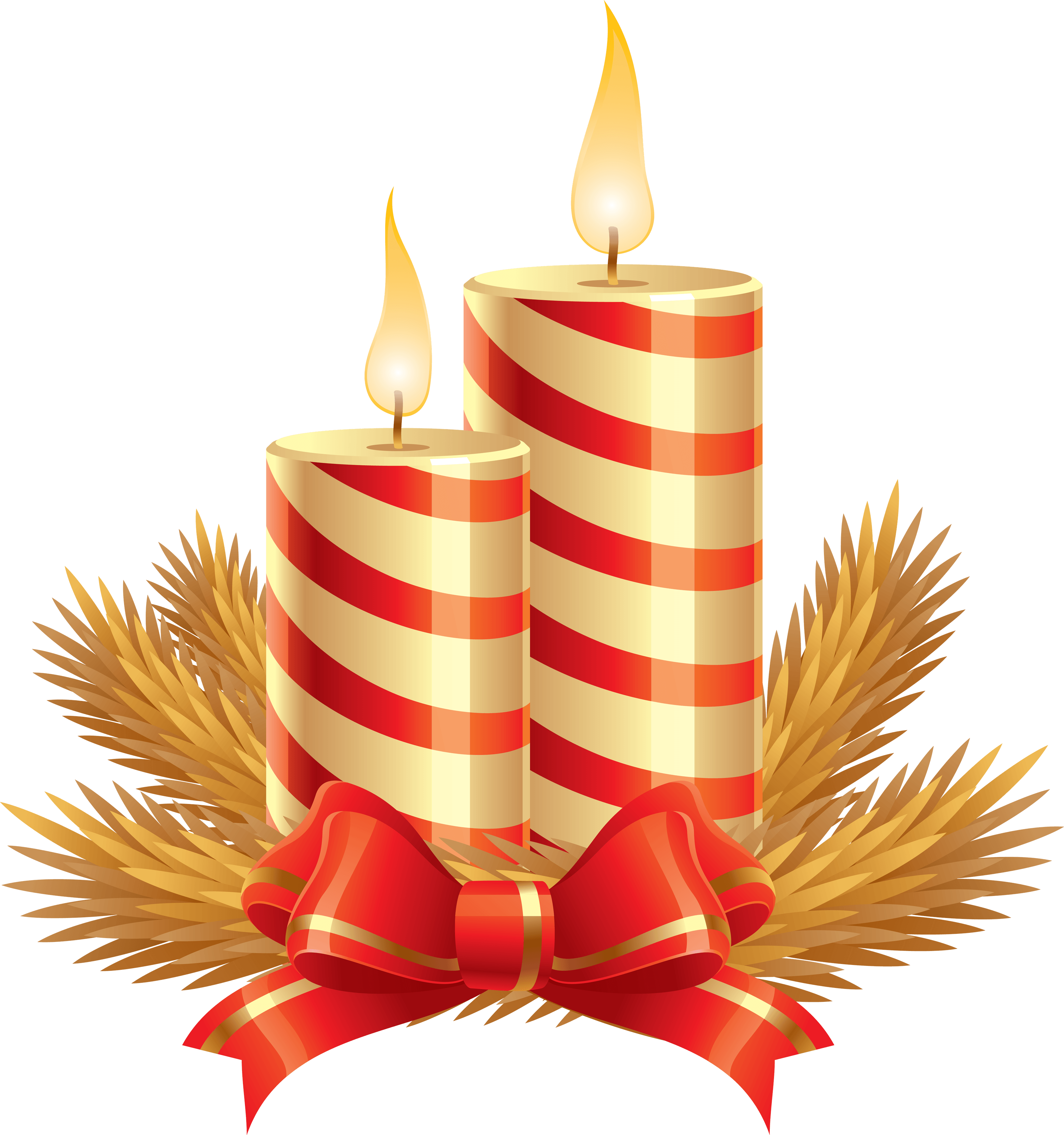 Download Christmas Candle Png Image HQ PNG Image.
