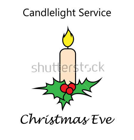 Christmas Candlelight Service Clipart Clipart.