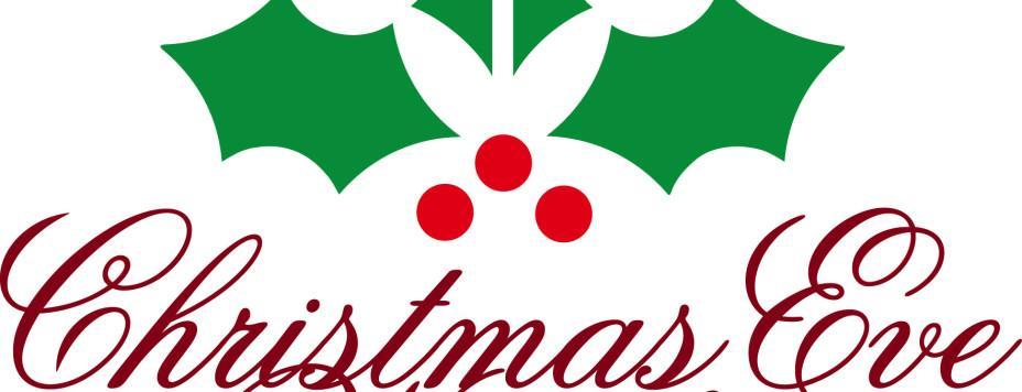 Christmas Eve Service Clipart.