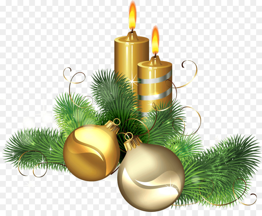 Candle, Illustration, Christmas, transparent png image & clipart.