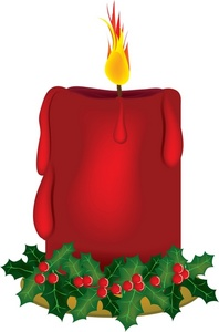 Free Candles Clipart.