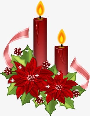 Christmas Candles PNG, Clipart, Candle, Candles, Candles Clipart.