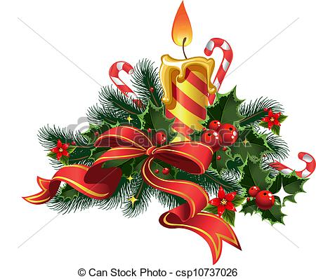 Christmas candle Illustrations and Clip Art. 14,857 Christmas.