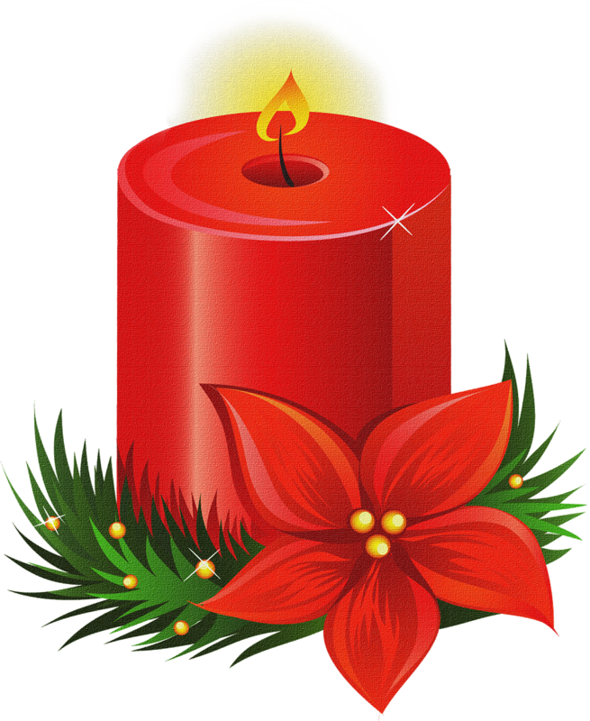 Free Candle Clip Art Image.