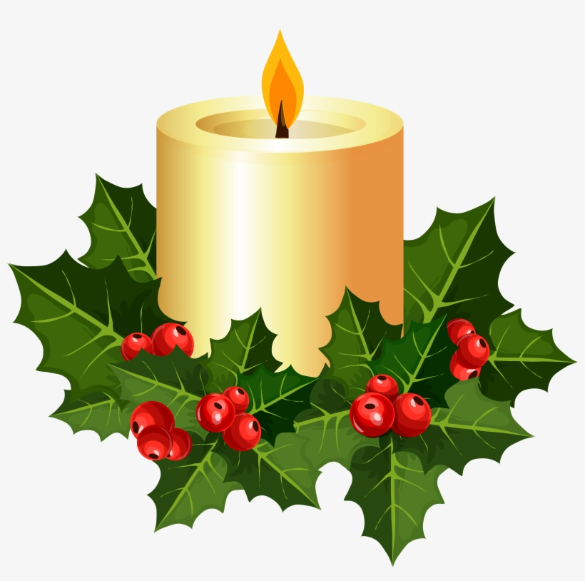 Christmas Candle Clipart At Getdrawings.