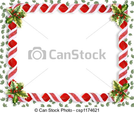 Christmas Candy Ribbon.