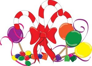 Christmas candy clip art clipart clipartcow clipartix.