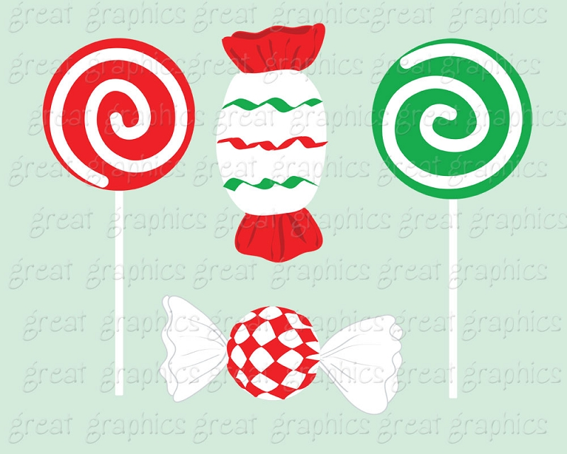 Ribbon candy clipart.