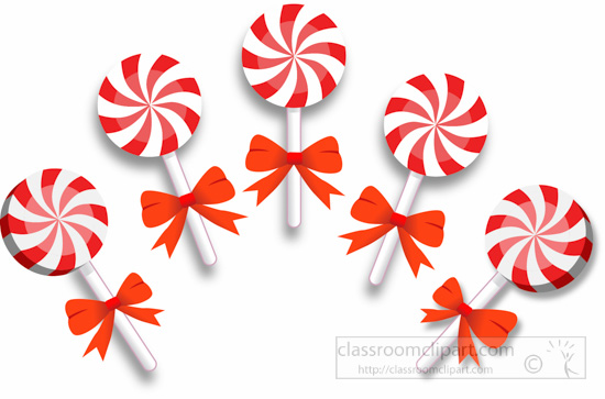 Christmas candy clipart #14