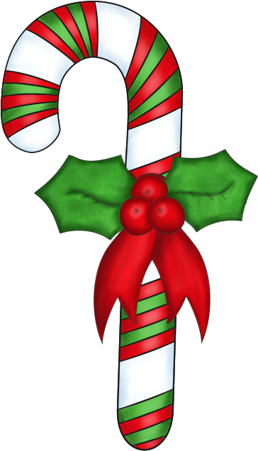 Christmas Candy Clipart.