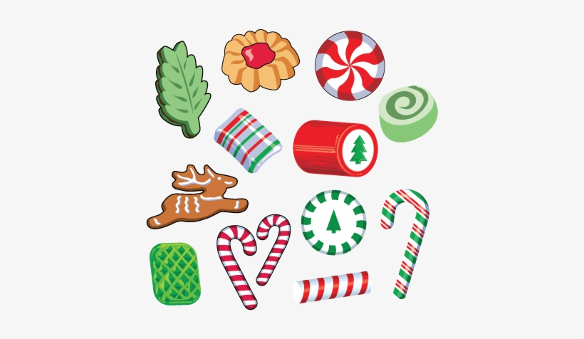 Sweets Clipart Christmas Candy.