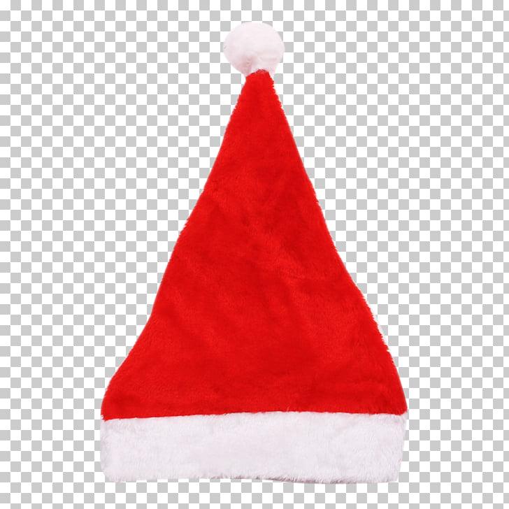 Santa Claus Fez Hat Christmas Cap, Christmas hat PNG clipart.