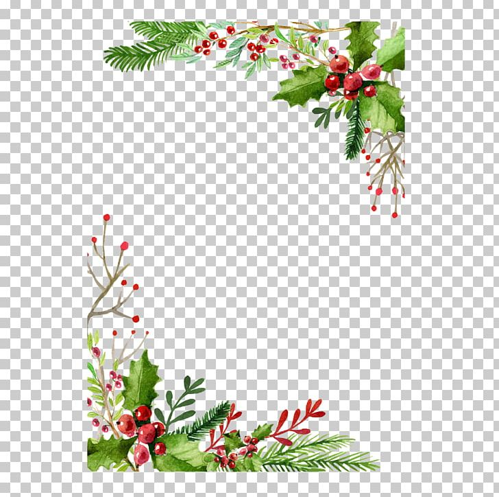 Christmas Card Greeting Card Gift PNG, Clipart, Border.