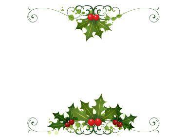 Christmas Card Border.