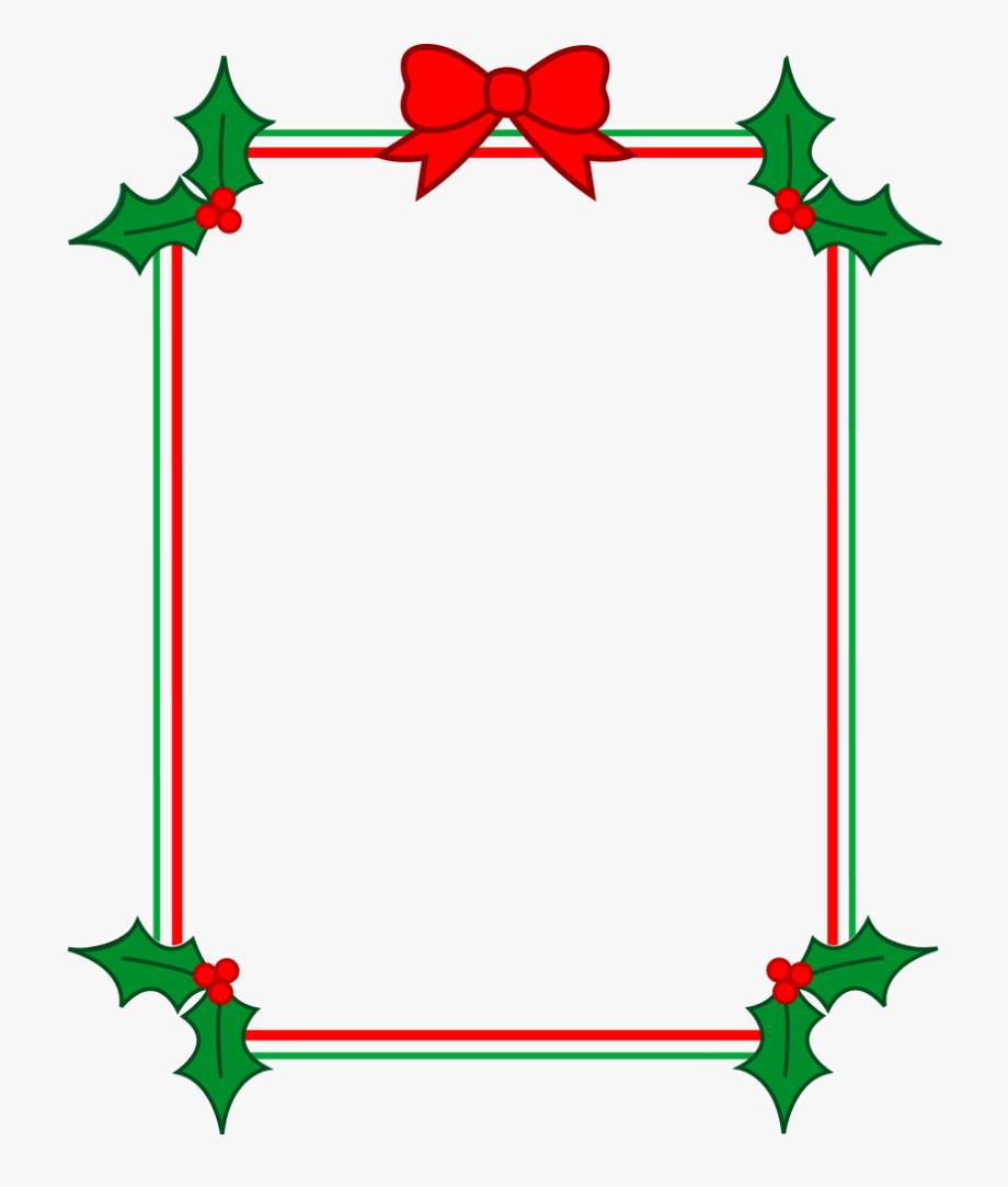 Holiday Clip Art Free Borders.