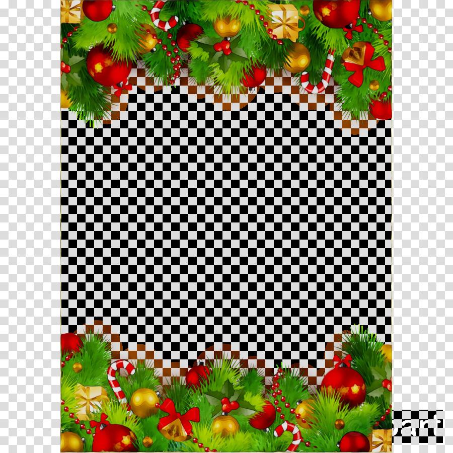 Christmas Card Frame clipart.