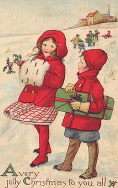 Hearty Christmas Greetings* Free 1500 paper dolls at Arielle.