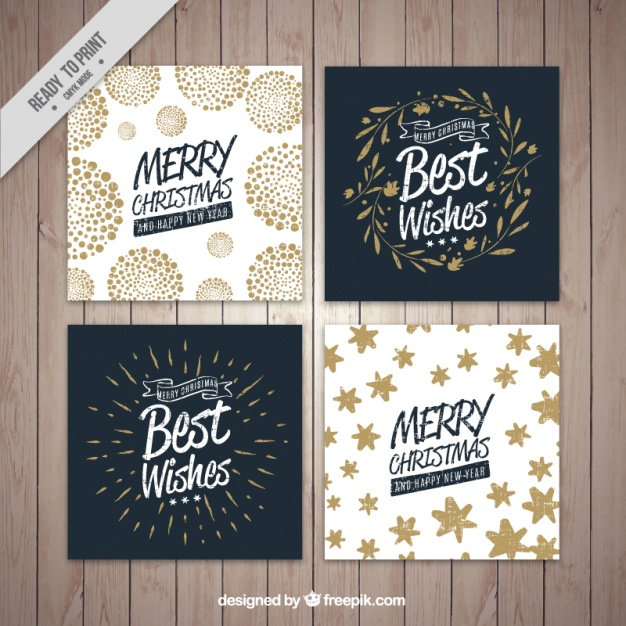 Christmas Card Vectors, Photos and PSD files.