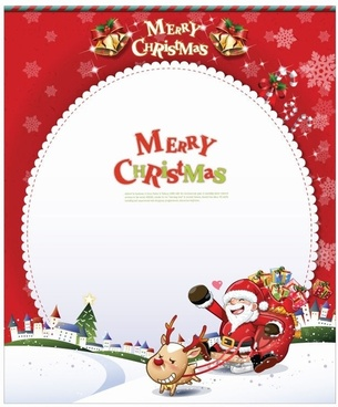 Christmas card clip art free vector download (221,092 Free vector.