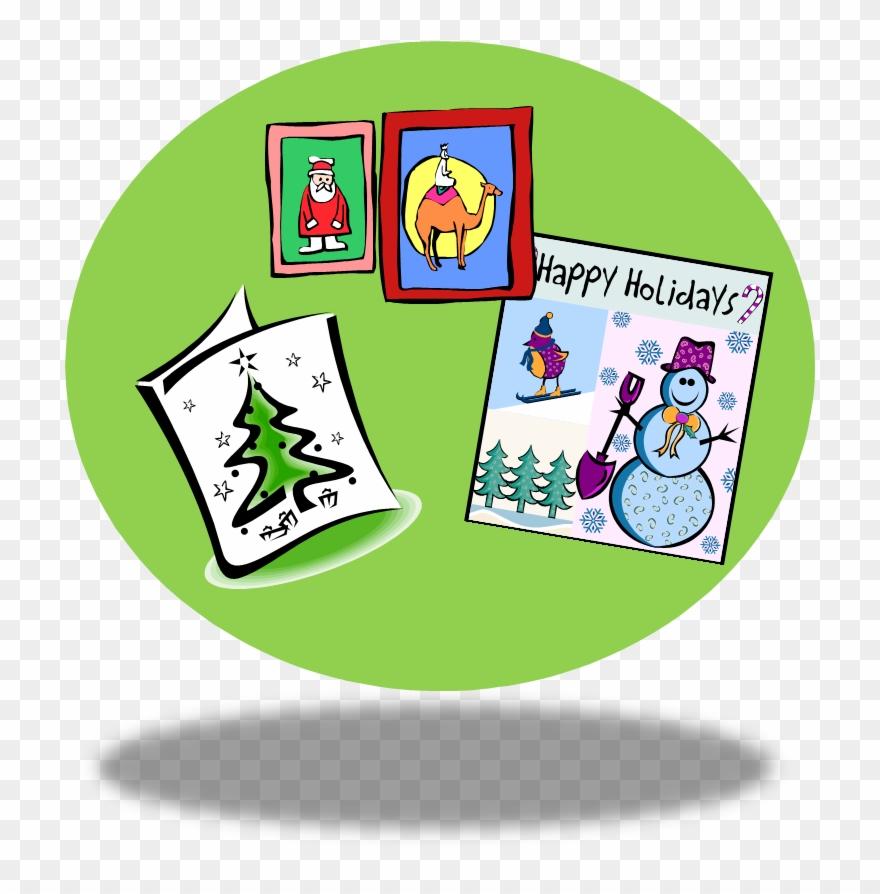 Clip Art Christmas Cards.