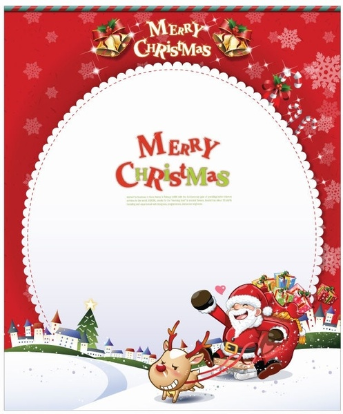 Christmas card clip art free vector download (213,411 Free vector.