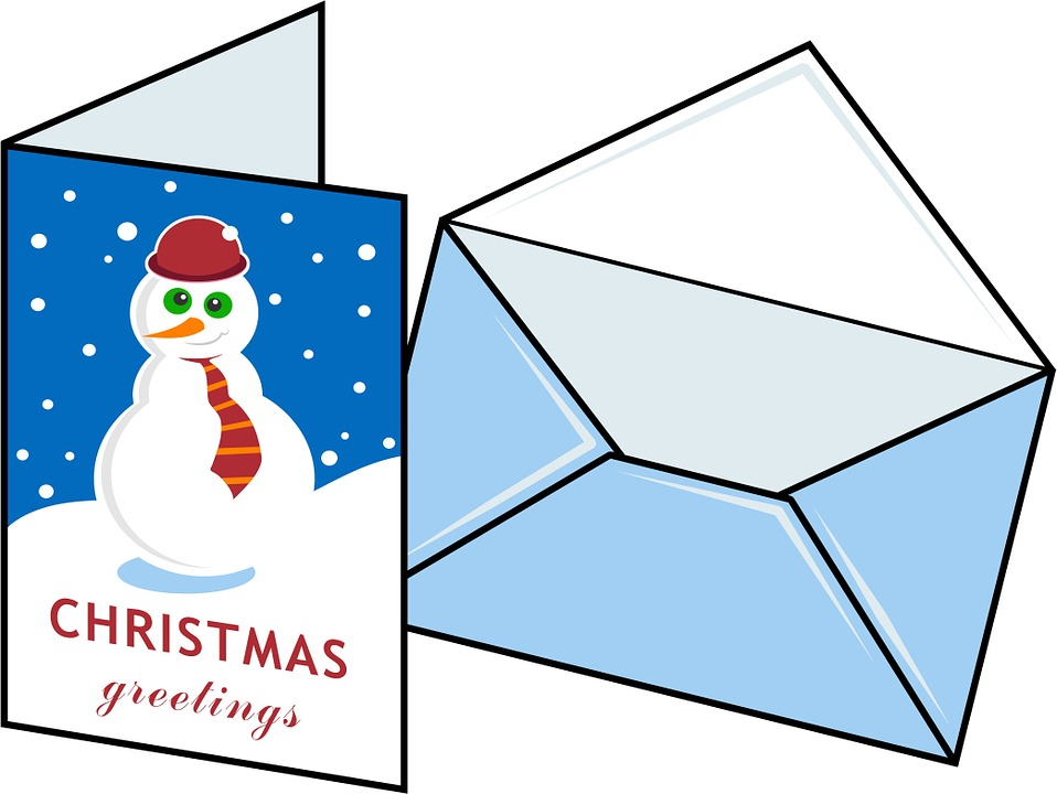 Holiday Card Clipart.