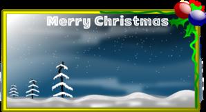 Merry Christmas Card Clip Art at Clker.com.