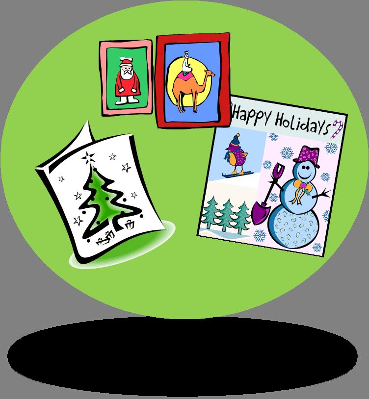 Christmas Card Clipart.